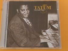 "CD: ART TATUM ""Tea for Two"" RARE 20 Song French Compilation; le Chant Du Monde"