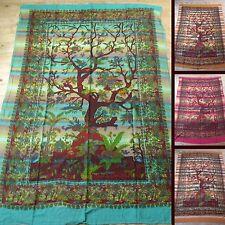 Tree of Life Baum des Lebens L'arbre de Vie Tagesdecke Wandbehang indien inde