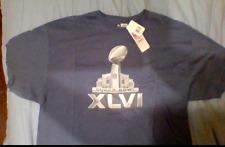 2f561d507 New York Giants NFL Super Bowl XLVI New with Tag M MED L LARGE 2XL XXL