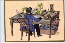 Post Postwesen Postkarte Telegraphenbüro anno 1863 AK