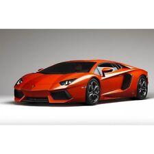Stickers ou Affiche poster voiture Lamborghini aventador lp700A235