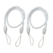 2 pcs corde rideau drape tiebacks gland salon chambre