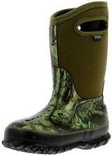 Bogs Boots Boys Classic Insulated Mossy Oak Waterproof Rubber 71650