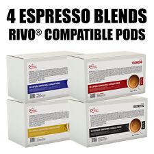 50 RIVO KUERIG® compatible pods Italian Coffee Espresso FREE SHIPPING!