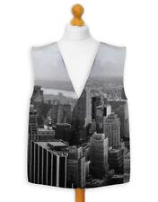 Neuheit Weste Kostüm Spass Legere Wacky Junggesellenabschied New York Skyline