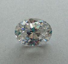 15 mm si usa al por mayor Blanco Cubic Zirconia AAAAA CZ Redondo Suelto lotes 1 piedras