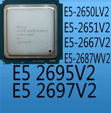 Intel Xeon E5 2650LV2 E5 2651V2 E5 2667V2  E5 2687WV2 E5 2695V2 E5 2697V2