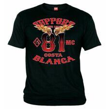 01 Hells Angels 1%MC T-Shirt Support81 Big Red Machine