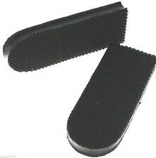 Ladies Heels in Black, RBV Oblong Heels for DIY Shoe Repair, Supplies