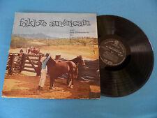 "Weavers ""Folklore Americain"" RARE French LP 196? LISTEN"