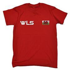 Cymru Bandiera T-shirt Galles Dragone Sport Calcio Rugby Gallese Compleanno Regalo Moda