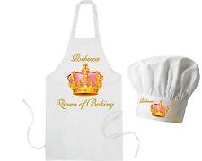 Personalizzato Queen di Cottura al forno Grembiule e Dello Chef