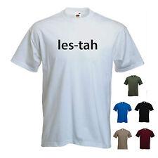 'les-tah' (Leicester) Serge Kasabian Gig Victoria Park mens T-shirt Tee