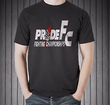 Pride FC Fedor Emelianenko Mirko Crocop Kazushi Sakuraba Black T-shirt Size S-5X