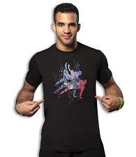 adidas Gymnastics Men's Graphic Fitness Shirt - T1001M-BK