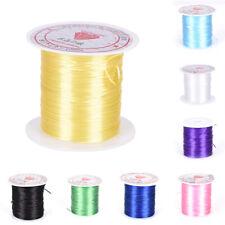 0.8mmCrystal Beads Lines Elastic Cord DIY Handmade Beaded Line Hand Chain LineSE