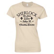 "Sherlock Holmes ""Consulente Investigativo"" Donna Skinny Fit T-shirt"