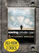Saving Private Ryan  (DVD, 2004) Tom Hanks, 60th Anniversary Com. Ed, 2 disc