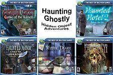 Creepy Haunted Hidden Object Adventure Assortment PC Windows XP Vista 7 8 10 New