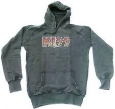 AMPLIFIED KISS Strass Vintage Sweater Kapuzen Pulli Pullover Hoody Hoodie M/L