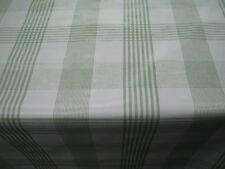PLAIN APPLE GREEN STRIPE CHECK WHITE PVC OIL VINYL PLASTIC TABLE CLOTH PROTECTOR