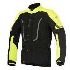 Alpinestars VENCE DRYSTAR Veste moto étanche - Noir/jaune fluo