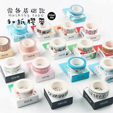 7m /1Roll New Japan Style Washi Tape Sticker Decor Paper Masking Adhesive Craft