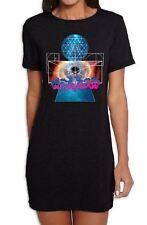 Psychedelic Magic Mushrooms Women's T-Shirt Dress