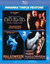 Halloween Triple Feature [Blu-ray], Very Good DVD, Donald Pleasence, LL Cool J,