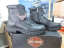 NEW Harley Davidson Mens Leather Boot Boots Shoes Medium Black Slash