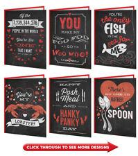Valentines Day Cards Funny Comedy Rude Cheeky Boyfriend Girlfriend Husband Wife