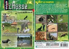 DVD Du chiot au champion  - Chiens de chasse - Top Chasse