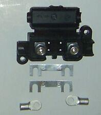 Sicherungshalter Streifensicherung 30-60 A + 2 x  Blattsicherung + Kabelschuhe