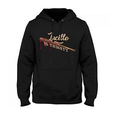 Lucille Thirsty Herren Kapuzenpullover Fan Hoodie Dead Walking T-W-D The Negan