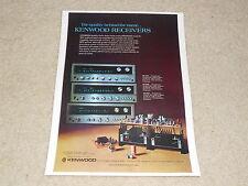 Kenwood Receiver AD, 1975, KR-7400, KR-6400, KR-5400, Specs, Artikel, 1 Seiten