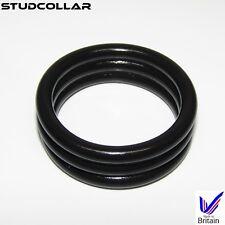 STUDCOLLAR-SUPERMAX-NITRILES - Bonded Black Nitrile Rubber Penis Collars
