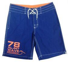 Boys Kids H&M Blue & Orange Drawstring Swim Shorts Beach Surf  2-14 Years