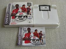 FIFA 2005 GBA COMPLETO DI SCATOLA ORIGINALE E ISTRUZIONI