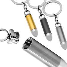 1x Porte-clés Trousseau Cartouche Balle Douille Acier Clavier Clé Clef Bullet