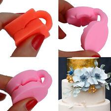 Silikon 3D Rose Blume Fondant Kuchen Schokolade Sugarcraft Formwerkzeug^