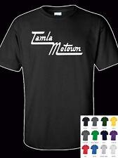 Motown Tamla 100% Cotton  Adult  T-Shirt - All Sizes & Colours