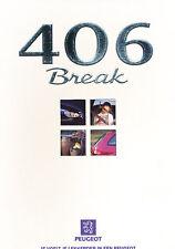 1998 Peugeot 406 Break 10/97 V1 Dutch Sales Brochure