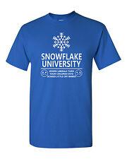 Snowflake University Where Liberals Turn Children into Babies Men's T Shirt 1610