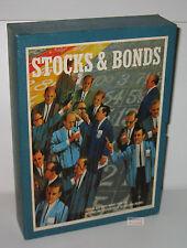 "Vintage 1964 3M Bookshelf Games ""Stocks & Bonds"" EX COND – BARELY USED"