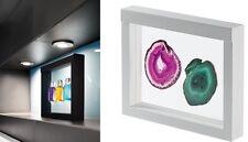 Nimbus 3D Schweberahmen Objektrahmen 270x225 / 230x180 mm in weiß oder schwarz