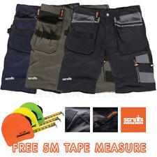 Scruffs Trade Work Combat Cargo Shorts Hardwearing  & FREE 5m TAPE OFFER
