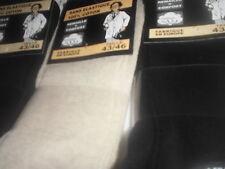 12 paires de chaussettes hommes 100% coton sans elastique pied sensible remaille