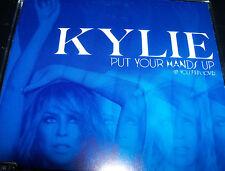 Kylie Minogue Put Your Hands Up / Cupid Boy Remixes Australian CD Single NEW