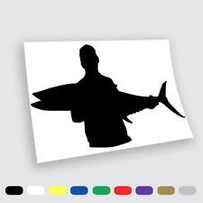 Adesivi in vinile Wall Stickers Prespaziati Pesca big Fish tonno Auto Notebook