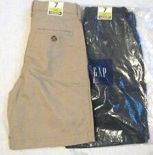 GAP Gapshield Boy Shorts Size 7 Slim Superlastic Choose Khaki-Beige or Navy-Blue